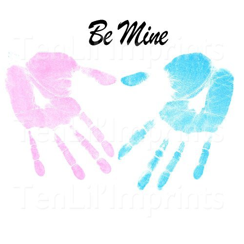 Mommy & Me Inkless Handprint and Footprint Kit