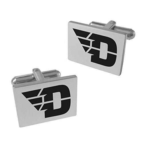 Dayton Flyers Stainless Steel Cufflinks