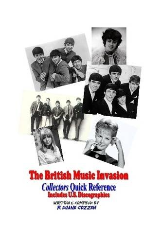 The British Music Invasion: Collectors Quick Reference