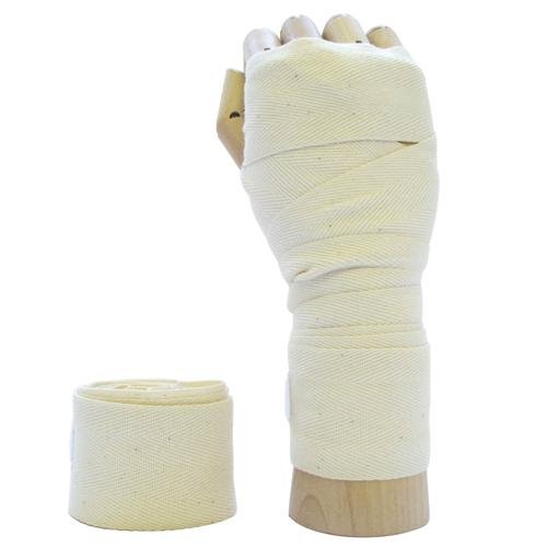 WHITE Pro Boxing/Martial Arts Hand Wraps Bandage
