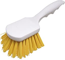 Carlisle 4054104 Sparta Spectrum Polypropylene Handle General Clean Up Brush, Polyester Bristles, 8\