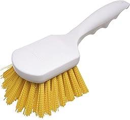 Carlisle 4054104 Sparta Spectrum Polypropylene Handle General Clean Up Brush, Polyester Bristles, 8\