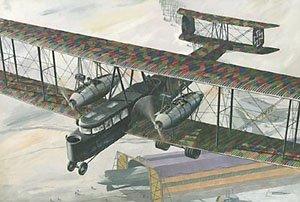 Maquette Zeppelin Staaken R.VI, 1ère GM