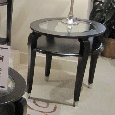Image of Harper Oval End Table (T1946-07)