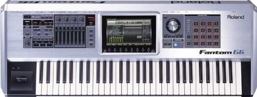 Roland Fantom G6 61 note workstation synth