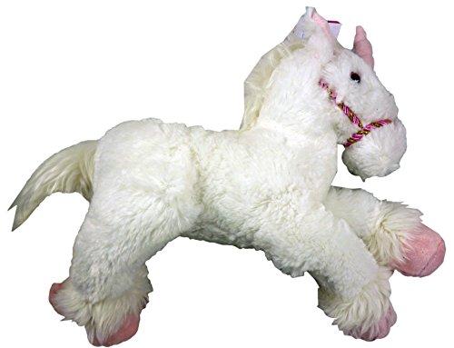 42 centimetri Fantasy Unicorn peluche Peluche - Fluffy White Design [Toy]