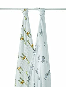 aden + anais Jungle Jam Muslin Swaddle (2-Pack)