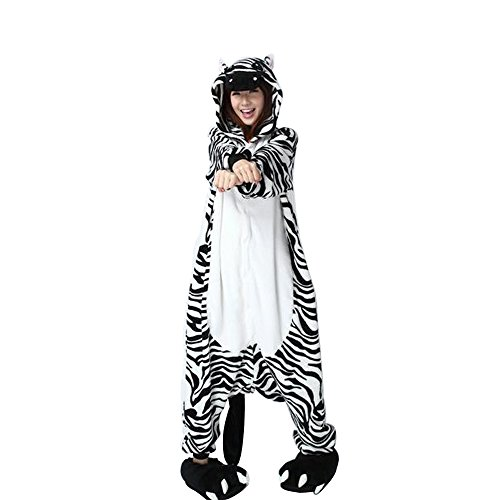 Unisex Adult Pajamas Kigurumi Cosplay Costume Animal Onesie Sleepwear Suit