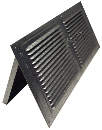 Norwesco 558027 Galvanized Soffit Vents with Damper, 16-Inch by 8-Inch (Soffit Vent Mesh compare prices)