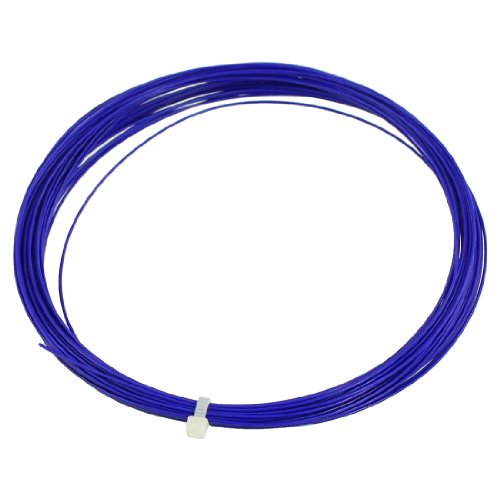 0.75mm Gauge 10M Length Badminton Racket Racquet String Blue - 1