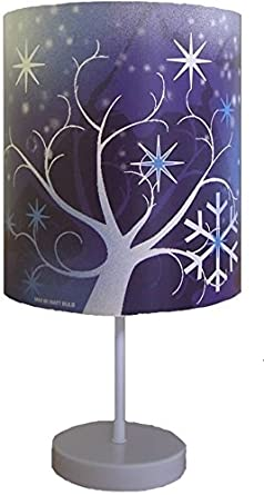kids shopping lampe motif la reine des neiges luminaires et eclairage. Black Bedroom Furniture Sets. Home Design Ideas