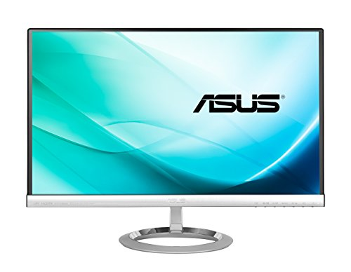 "Asus MX239H Monitor da 23""/58.42 cm, Widescreen, 16:9, WLED/IPS, 1920x1080, 250 cd/mq, Nero/Argento"