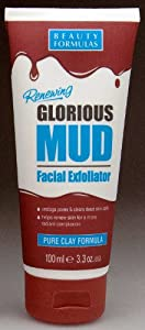 Beauty Formulas Mud Facial Exfoliator, 100ml