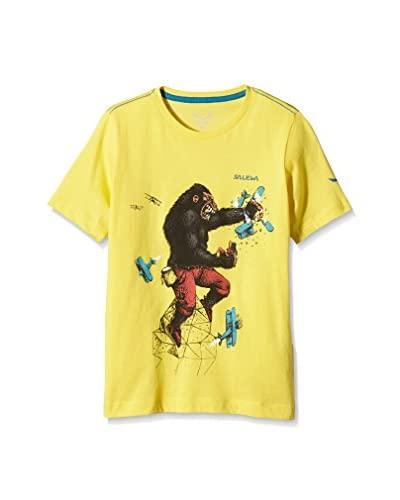 Salewa T-Shirt Manica Corta King Kong Co K S/S [Giallo]