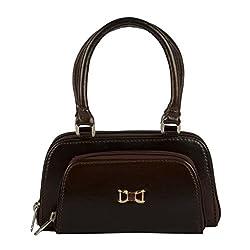 EDGEKART PU Leather Handbags For Women - Brown