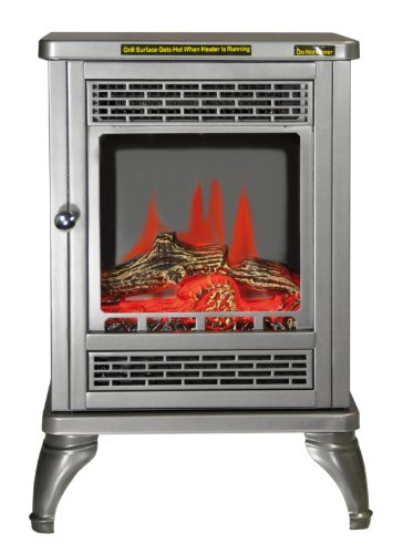 Prem-I-Air Elite Traditional Style Log Effect LED flame Electric Stove 1.9KW
