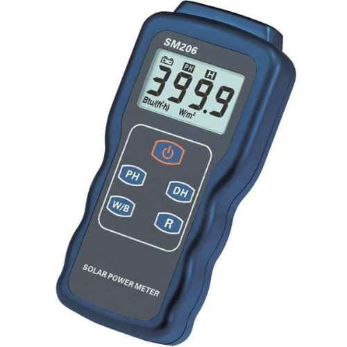 Dr.Meter SM206 Digital Solar BTU Power Meter