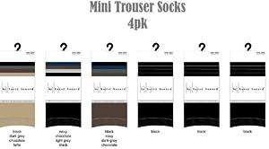 Ladies Mini Trouser Sock 4 Pack - Case Pack 60 SKU-PAS924033 [Misc.]