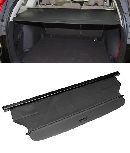 Fit for 2012-2014 Honda CRV Cr-v Black Rear Cargo Cover Trunk Shade Shielding Visor Kit Brand New