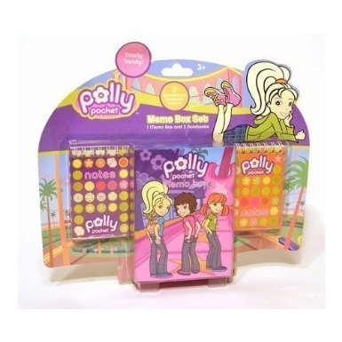 Polly Pocket - Memo Box (10 x 14 x 3 cm)
