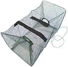 Foldable Fish Lobster Crab Crawfish Shrimp Minnows Fishing Bait Trap Fish Catching Net Cage