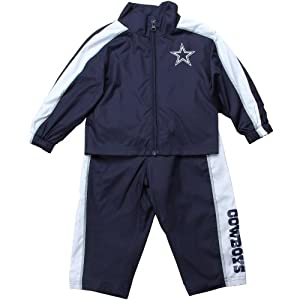 Dallas Cowboys Little Bit Windsuit Set by Dallas Cowboys Merch.