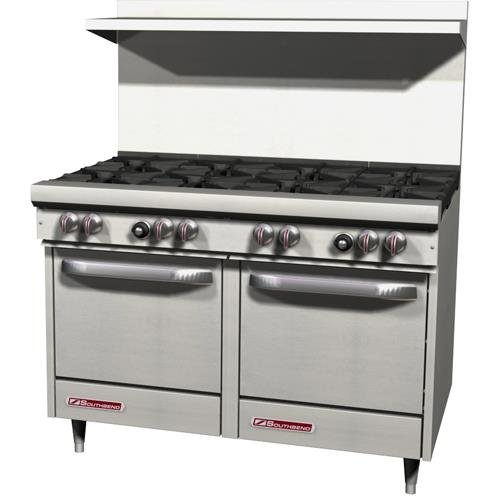 "Southbend S48Ee 48"" Gas Open Burner Restaurant Range - S Series"