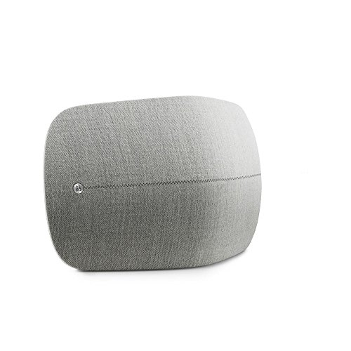 B&O PLAY by Bang & Olufsen Beoplay A6 Music System Multiroom Wireless Home Speaker (Light Gray)