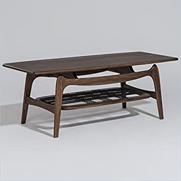 Rectangular Coffee Table in Walnut Finish