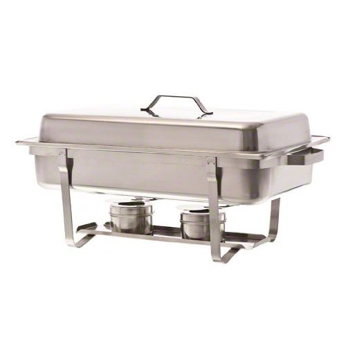 Update International (SCC-19) 8 Qt Stainless Steel Rectangular Stackable Chafer