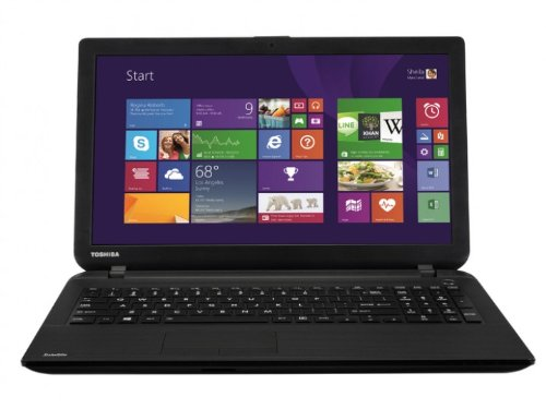 Toshiba Satellite C50-B-118 39,6 cm (15,6 Zoll) Notebook (Intel Core i3 3217U, 1,8GHz, 4GB RAM, 500GB HDD, Intel HD 4000, Win 8) schwarz