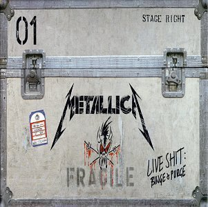 Live Shit: Binge & Purge (3 CDs & 3 VHS Tapes) by Metallica