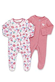 2 Pack Seagull & Spotted Sleepsuits