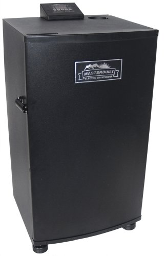 Masterbuilt 20070910 30-Inch Electric Smokehouse Smoker, Black
