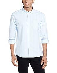 Ruggers Men's Casual Shirt (8907242819709_267797055_Medium_Light Blue)