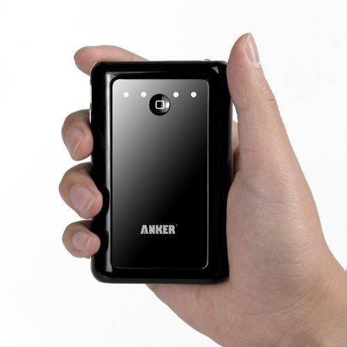 Anker Astro2 大容量モバイルバッテリー 8400mAh 5V/2A+1A 2USBポート同時充電 iPhone5 iPhone4S iPad iPod Android 各種スマホ Wi-Fiルータ等対応(日本語説明書付き)