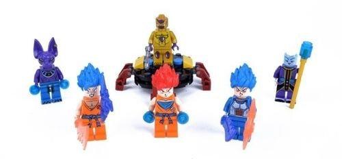 6 PCS Set Dragon Ball Z Lot Minifigures Freeze Virus Wish Son Blocks Bricks Toy (Dbz Figure Lot compare prices)
