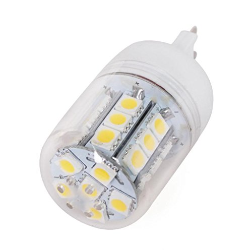 Lqz 5.5W Super Bright G9 Led Bulb With Clean Cover And 27 X 5050 Smd Leds - 450 Lumens - Warm White - Ac 220V