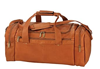 Winston Collection Vaquetta Leather Sport Duffel Bag Brown by Winston Collection