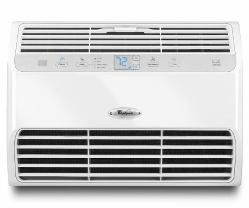 Whirlpool 10,000 BTU Resource Saver Room Air Conditioner, White, W5WCE105XW