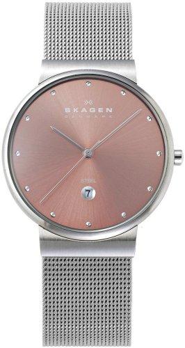 SKAGEN (スカーゲン) 腕時計 basic steel mens Japan limited J355LSCHP ケース幅: 34mm メンズ 日本限定カラー [正規輸入品]