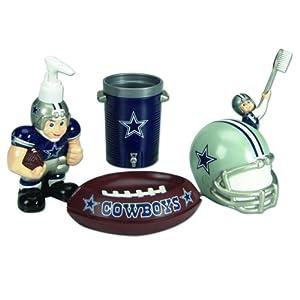 Dallas cowboys bathroom accessories