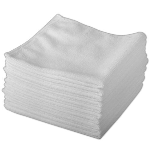 20-pack-of-genuine-exel-white-microfibre-magic-cleaning-cloths-chemical-free-cleaning-anti-bacterial