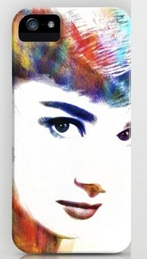 オードリー・ヘップバーン society6 iphone 6/ iphone 6 plusケース並行輸入品 (iphone 6 plus, Audrey13)
