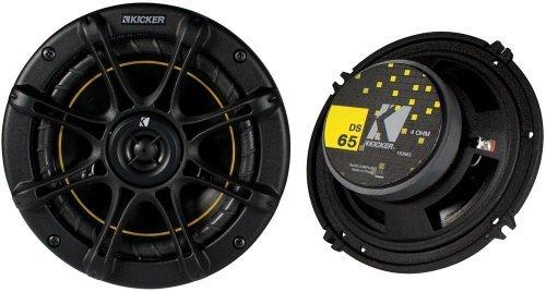 """Kicker Ds65 6.5"""" Coax Speakers (Pair)"""