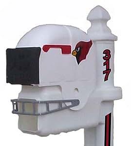 Arizona Cardinals Football Helmet Mailbox