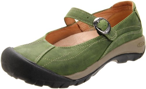 Keen Women's Toyah Mary Jane Casual Shoe,Bronze Green,6.5 M US