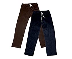 IndiWeaves Women Super Combo Pack 4 (Pack of 2 Lower/Track Pant and 2 T-Shirt)_Brown::Black::Black ::White_XXL
