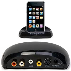 Cambridge Audio iD50 High Performance Dock for iPod with Remote