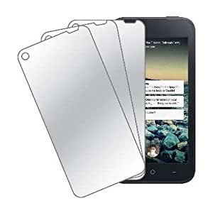 MPERO Collection 3 Pack of Mirror Screen Protectors for HTC First